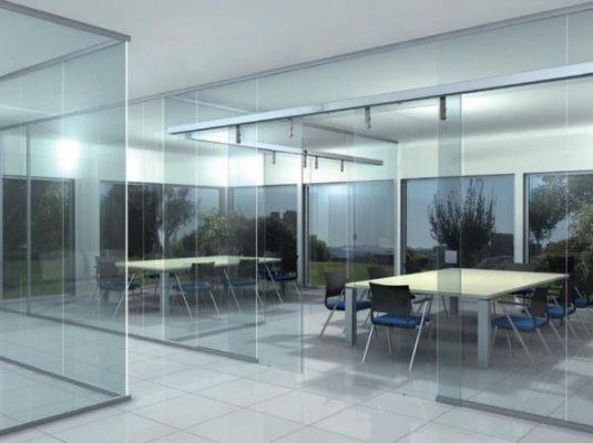 Vách kính cường lực – gợi ý thiết kế một không gian mở 2